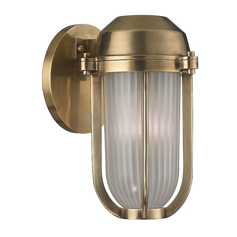 Hudson Valley Lighting 980 Pompey 1 Light Outdoor Wall Sconce Aged Sale $220.80 ITEM#: 2402408 MODEL# :980-AGB UPC#: 806134174316 :