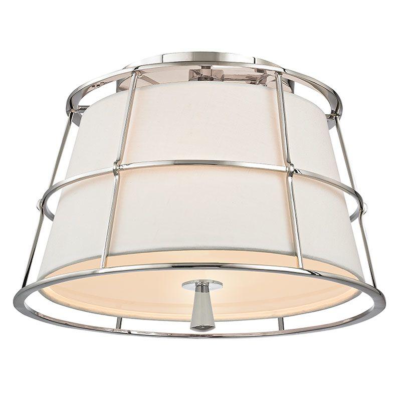 Hudson Valley Lighting 9814 Savona 2 Light Flush Mount Ceiling Fixture