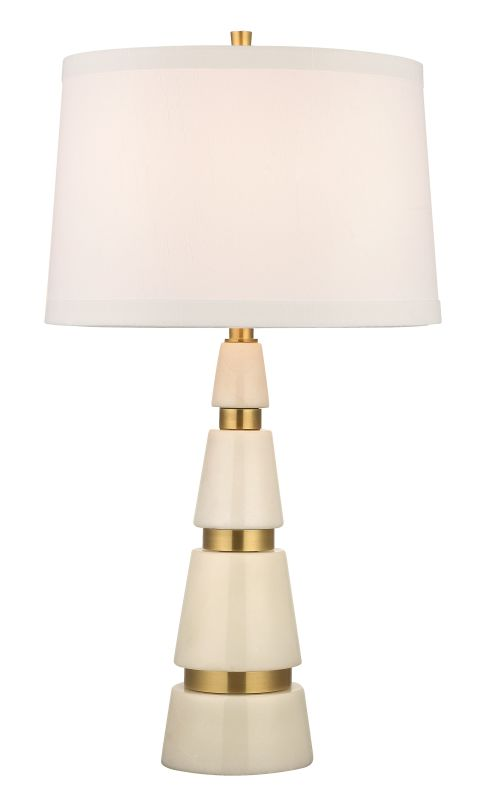 Hudson Valley Lighting L789-WS Modena 1 Light Marble Table Lamp with Sale $799.00 ITEM#: 2295183 MODEL# :L789-AGB-WS UPC#: 806134156619 :