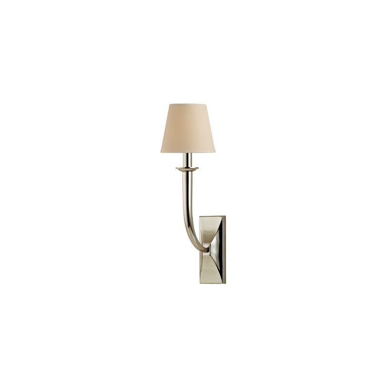 Hudson Valley Lighting 110 Vienna 1 Light Wall Sconce Polished Nickel