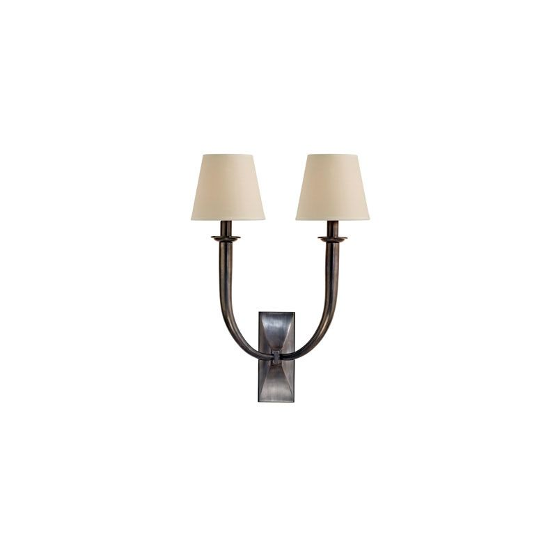 Hudson Valley Lighting 112 Vienna 2 Light Wall Sconce Old Bronze