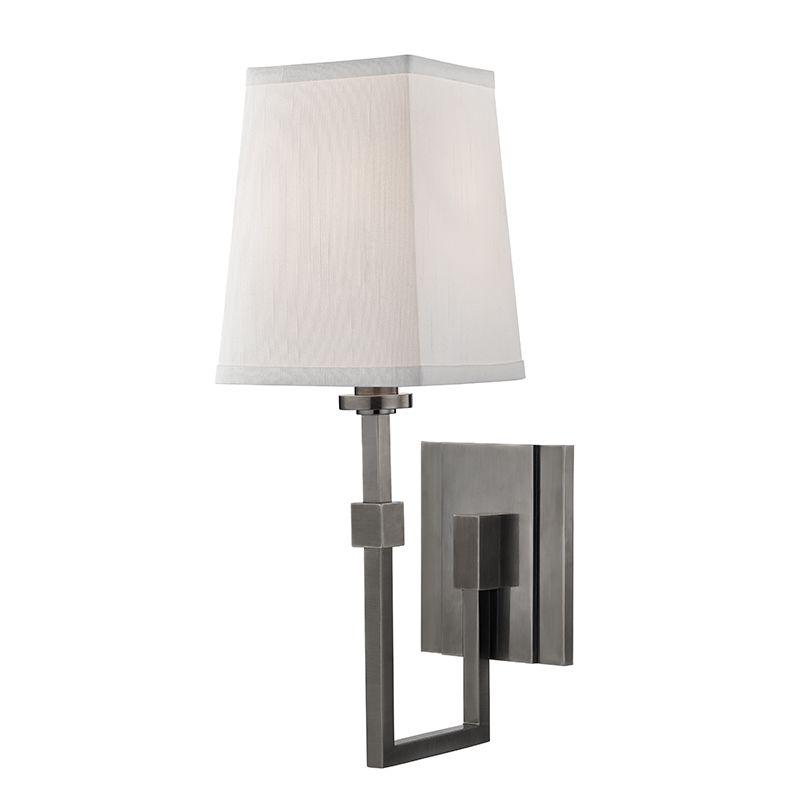"Hudson Valley Lighting 1361 Fletcher Single Light 15"" Tall Wall Sconce"