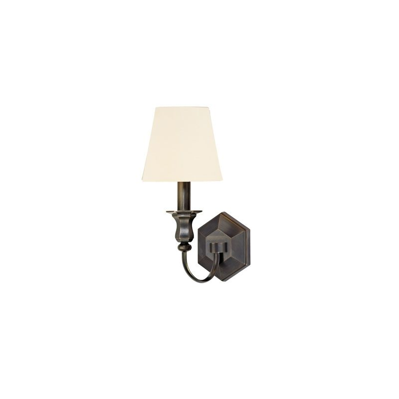 Hudson Valley Lighting 1411 Charlotte 1 Light Wall Sconce Old Bronze /
