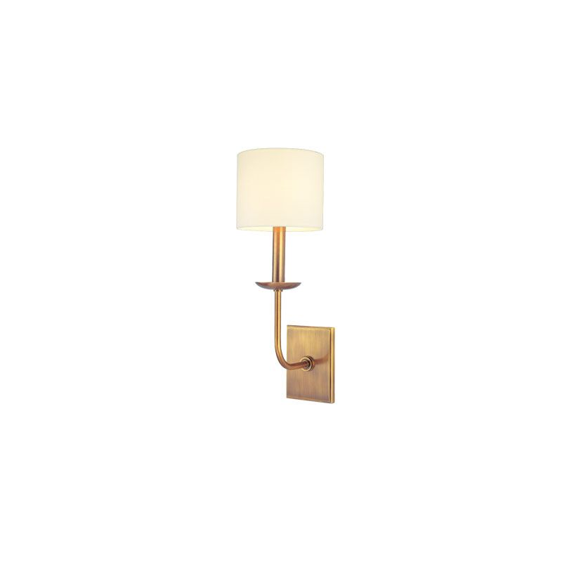 Hudson Valley Lighting 1711 Kings Point 1 Light Wall Sconce Aged Brass