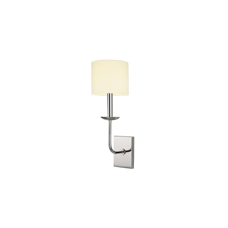 Hudson Valley Lighting 1711 Kings Point 1 Light Wall Sconce Polished