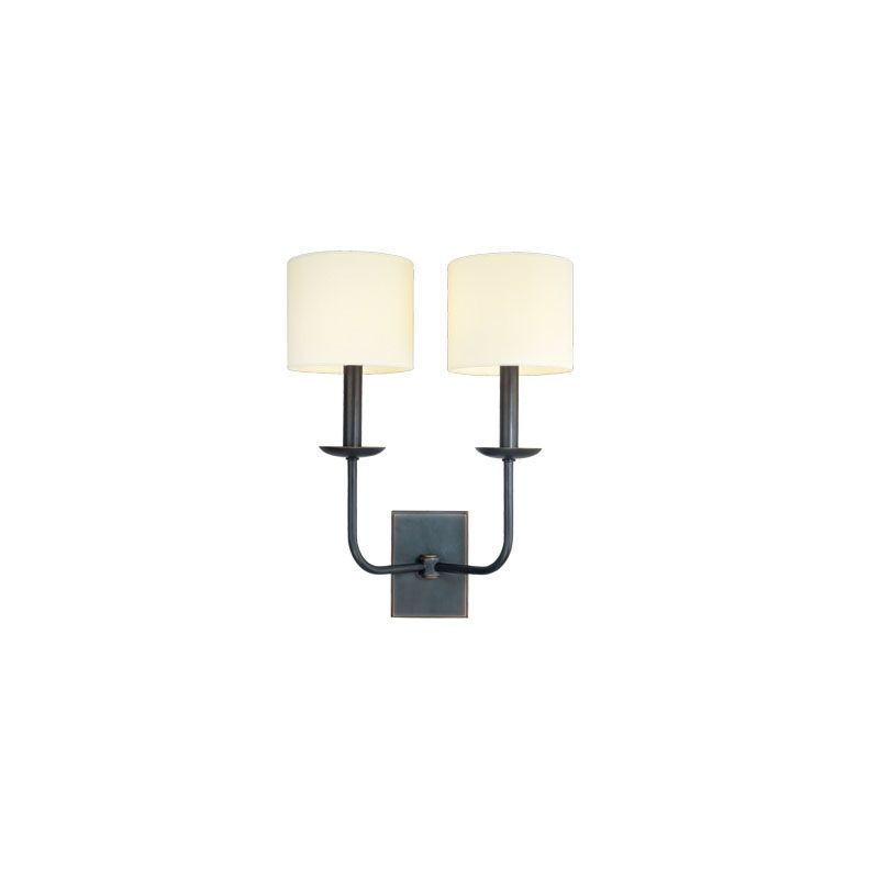 Hudson Valley Lighting 1712 Kings Point 2 Light Wall Sconce Polished