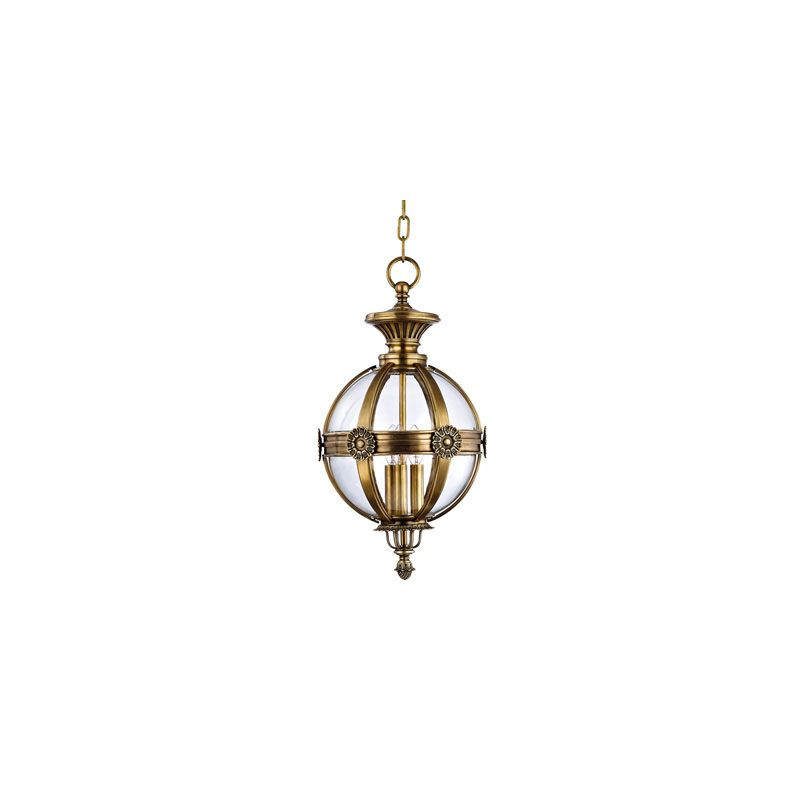 Hudson Valley Lighting 2313 Marietta 3 Light Pendant Aged Brass Indoor