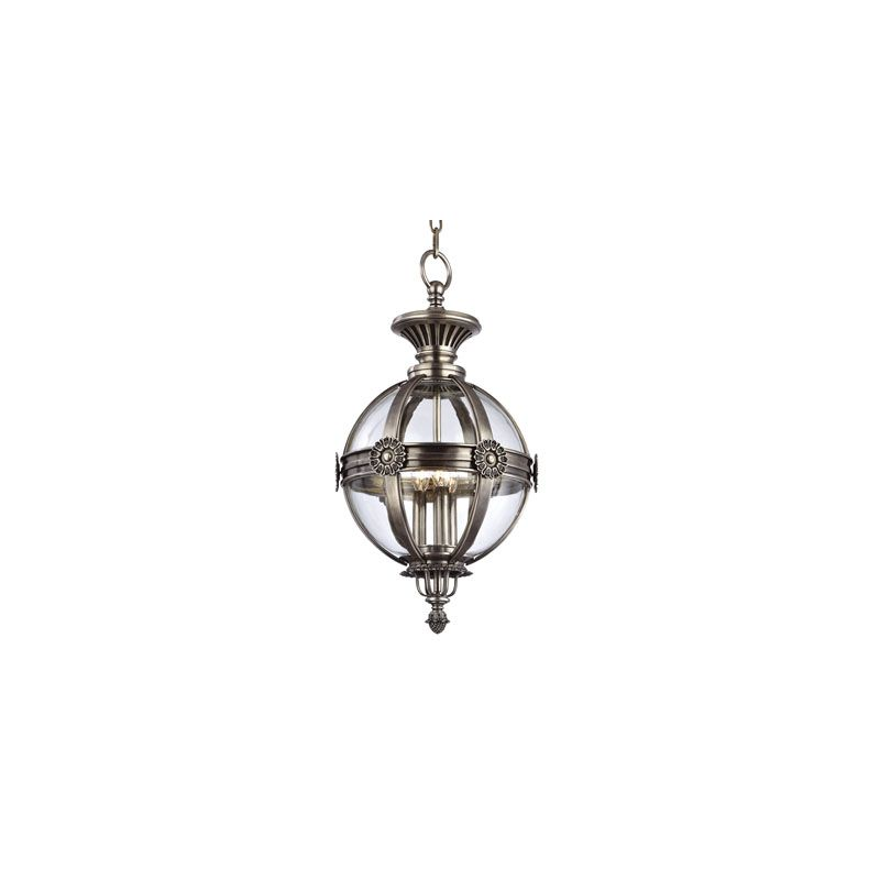 Hudson Valley Lighting 2313 Marietta 3 Light Pendant Aged Silver