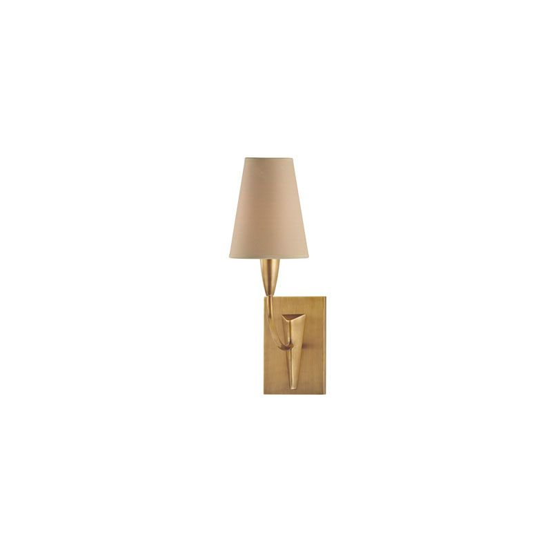 Hudson Valley Lighting 2411 Berkley 1 Light Wall Sconce Aged Brass