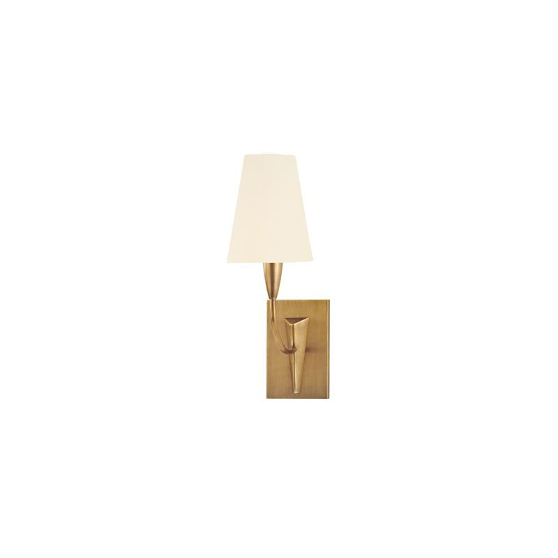 Hudson Valley Lighting 2411 Berkley 1 Light Wall Sconce Aged Brass /