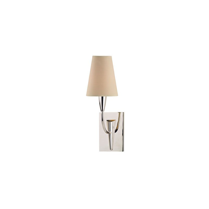 Hudson Valley Lighting 2411 Berkley 1 Light Wall Sconce Polished Sale $278.00 ITEM#: 2062800 MODEL# :2411-PN UPC#: 806134140885 :