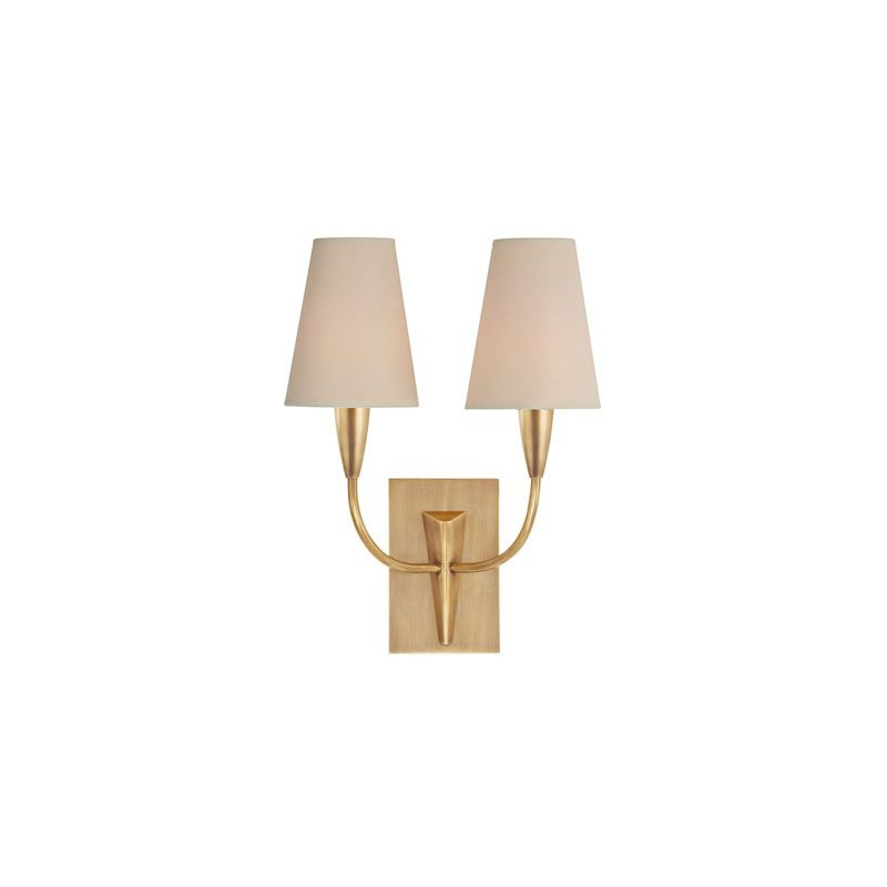 Hudson Valley Lighting 2412 Berkley 2 Light Wall Sconce Aged Brass