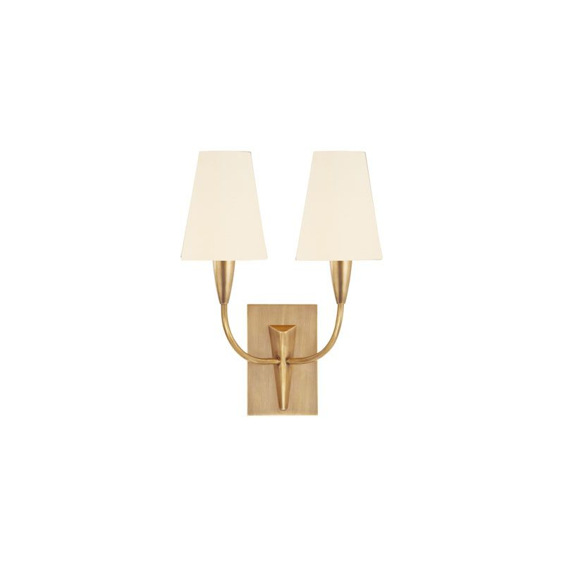 Hudson Valley Lighting 2412 Berkley 2 Light Wall Sconce Aged Brass /