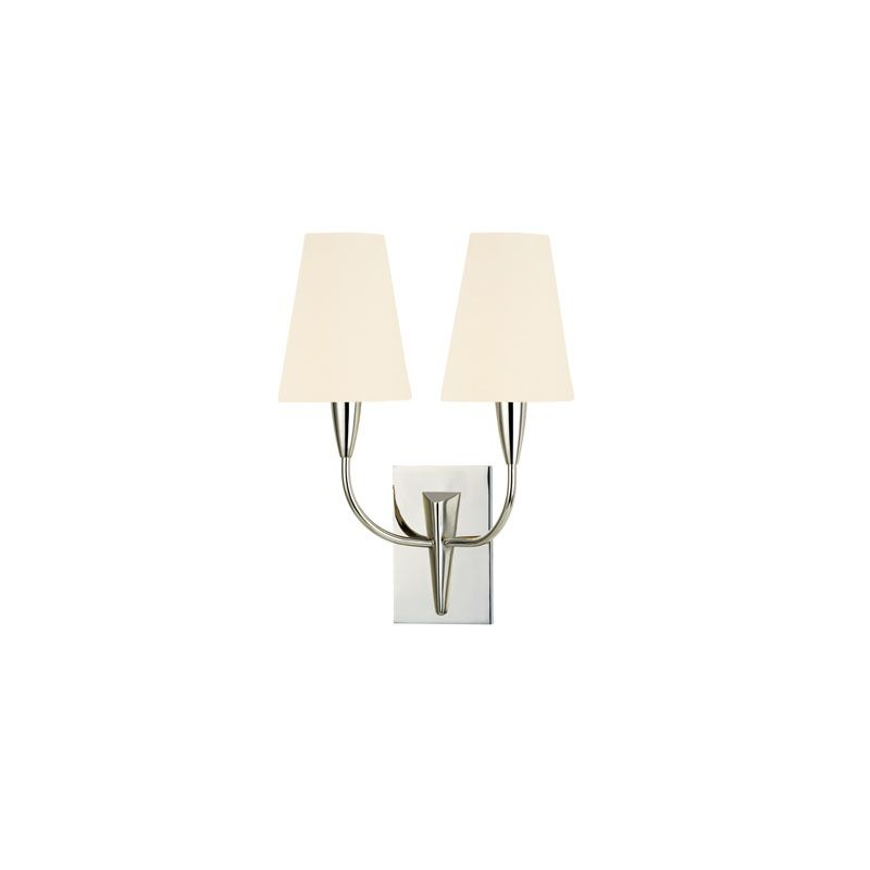 Hudson Valley Lighting 2412 Berkley 2 Light Wall Sconce Polished