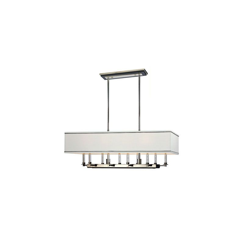 Hudson Valley Lighting 2938 Collins 10 Light Island / Billiard Fixture