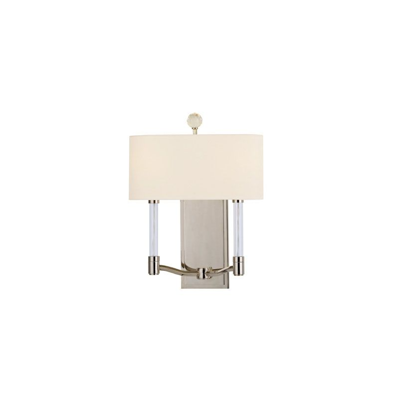 Hudson Valley Lighting 3002 Waterloo 2 Light Wall Sconce Polished