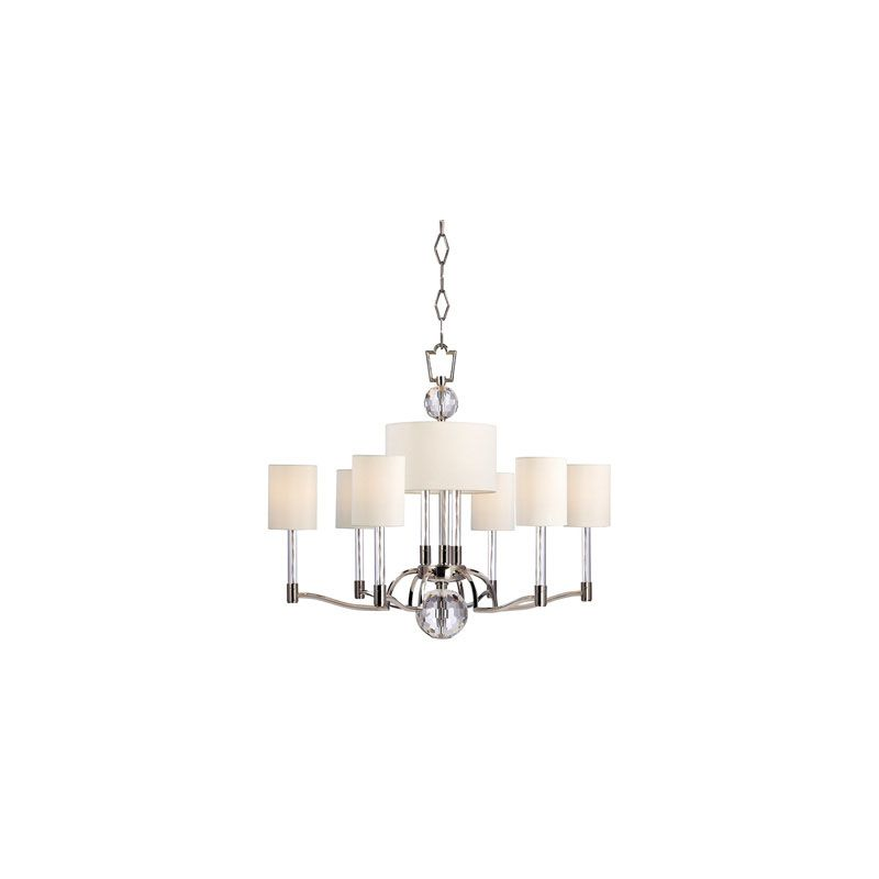Hudson Valley Lighting 3006 Waterloo 9 Light Chandelier Polished