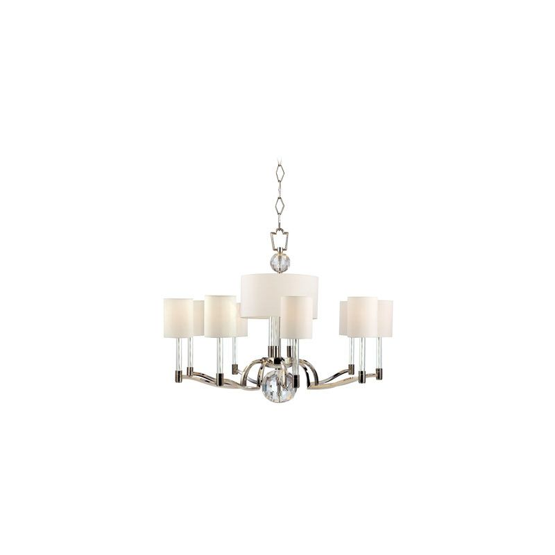 Hudson Valley Lighting 3009 Waterloo 11 Light Chandelier Polished