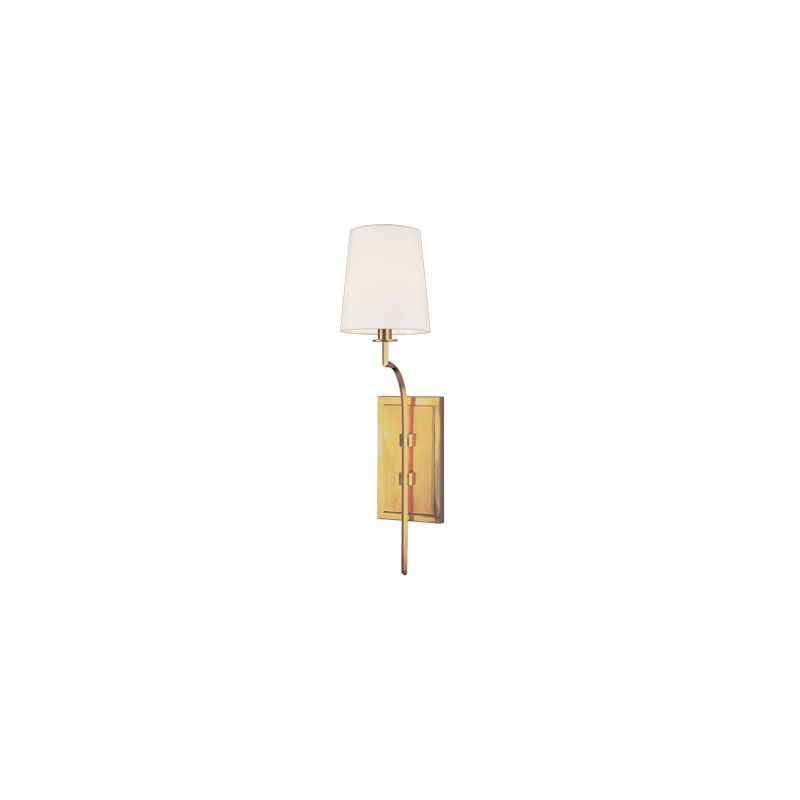 Hudson Valley Lighting 3111 Glenford 1 Light Wall Sconce Aged Brass