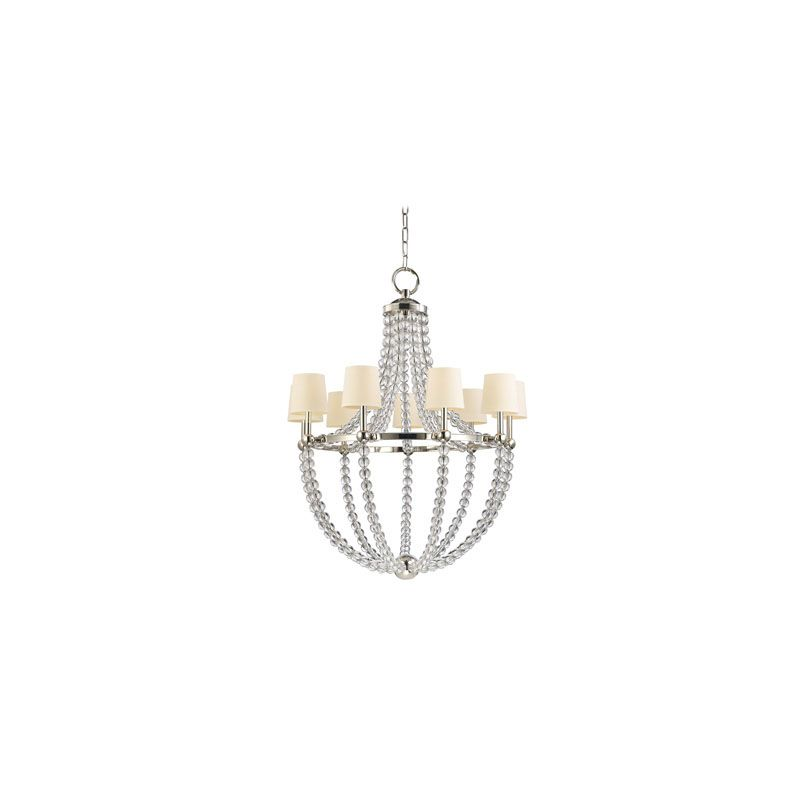Hudson Valley Lighting 3119 Danville 9 Light Chandelier Polished