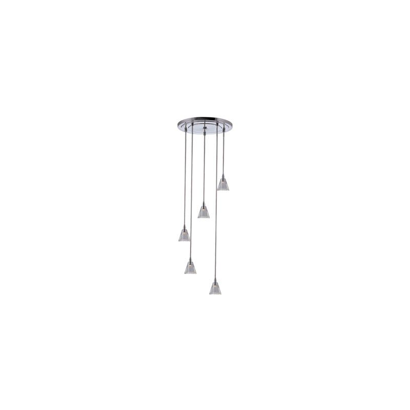 Hudson Valley Lighting 3515-S-003 Naples 1 Light Pendant Polished
