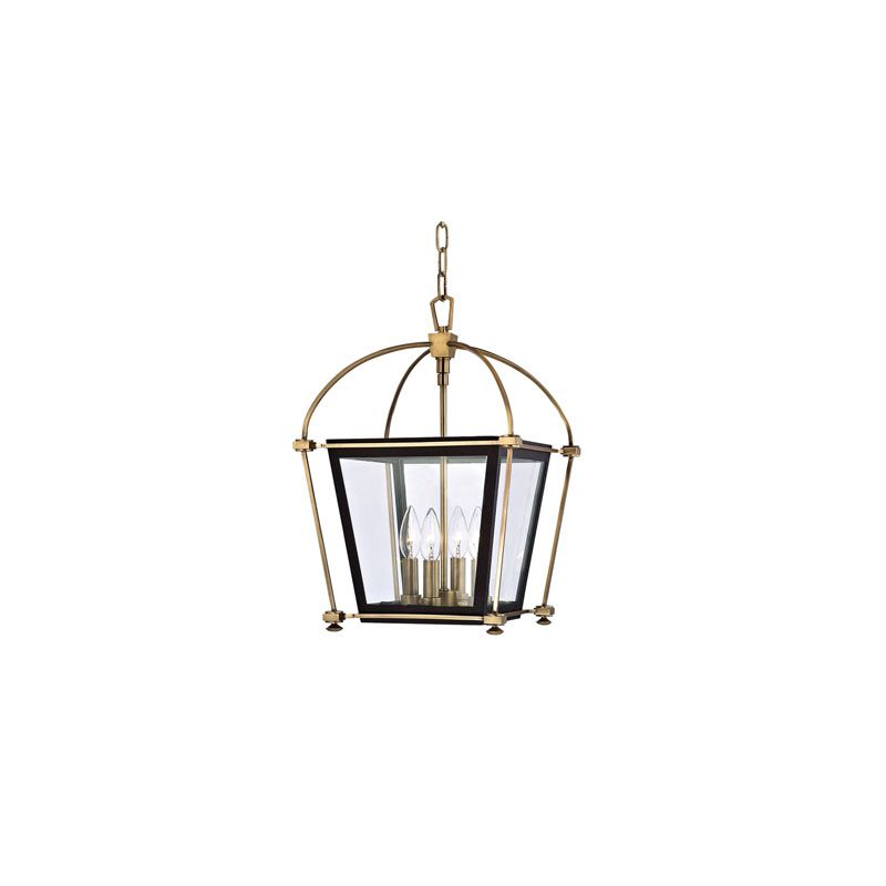 Hudson Valley Lighting 3612 Hollis 4 Light Pendant Polished Nickel
