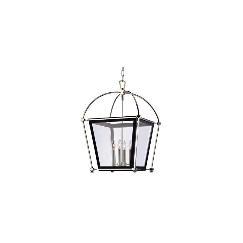 Hudson Valley Lighting 3618 Hollis 4 Light Pendant Polished Nickel