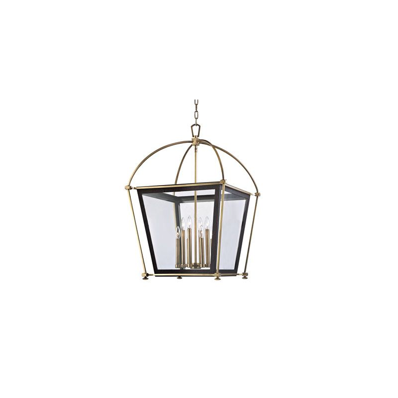 Hudson Valley Lighting 3624 Hollis 8 Light Pendant Polished Nickel