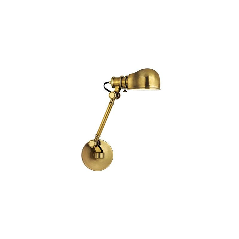 Hudson Valley Lighting 3941 Laconia 1 Light Swing Arm Wall Sconce Aged