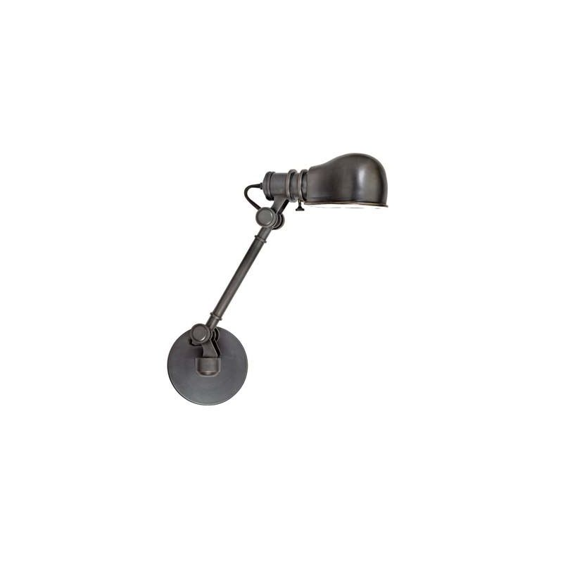 Hudson Valley Lighting 3941 Laconia 1 Light Swing Arm Wall Sconce Old