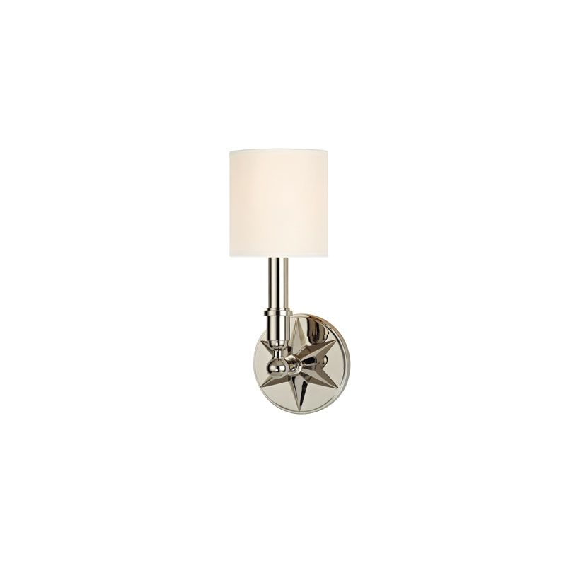 Hudson Valley Lighting 4081 Bethesda 1 Light Wall Sconce Polished