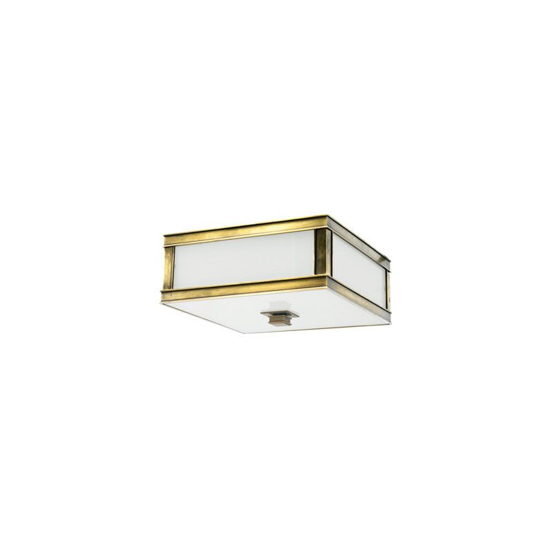 Hudson Valley Lighting 4210 Preston 1 Light Flushmount Ceiling Fixture