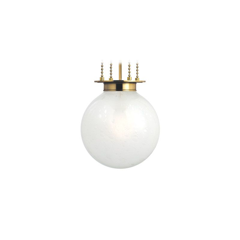 Hudson Valley Lighting 4211-FB Blaine 1 Light Pendant Aged Brass