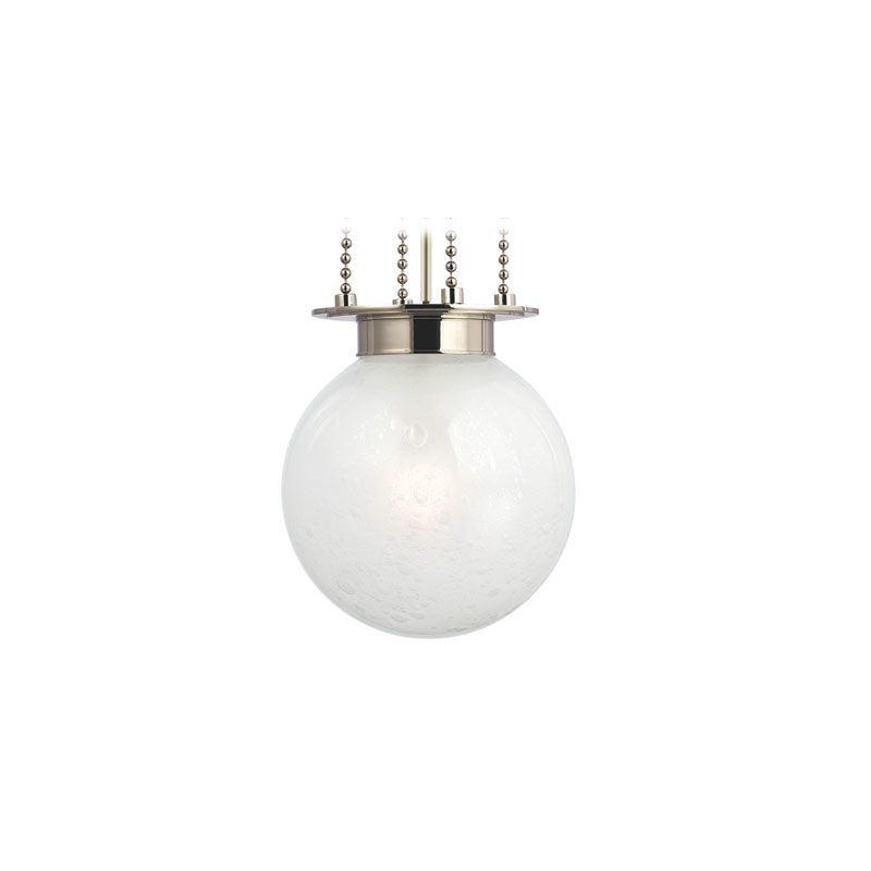 Hudson Valley Lighting 4211-FB Blaine 1 Light Pendant Polished Nickel