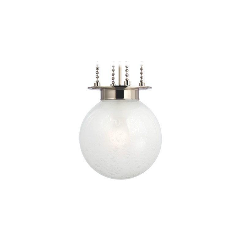 Hudson Valley Lighting 4217-FB Blaine 1 Light Pendant Polished Nickel Sale $510.40 ITEM#: 2062983 MODEL# :4217-PN-FB UPC#: 806134139292 :