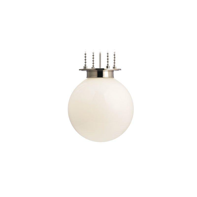 Hudson Valley Lighting 4217-OP Blaine 1 Light Pendant Polished Nickel