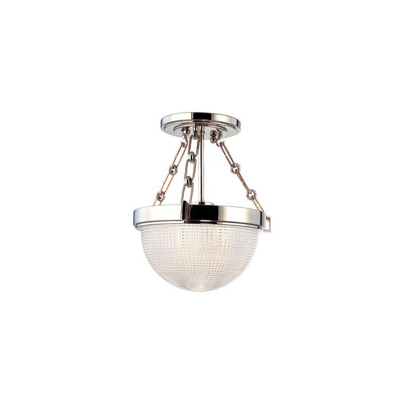 "Hudson Valley Lighting 4409 Winfield 1 Light 10.5"" Diameter Semi-Flush"