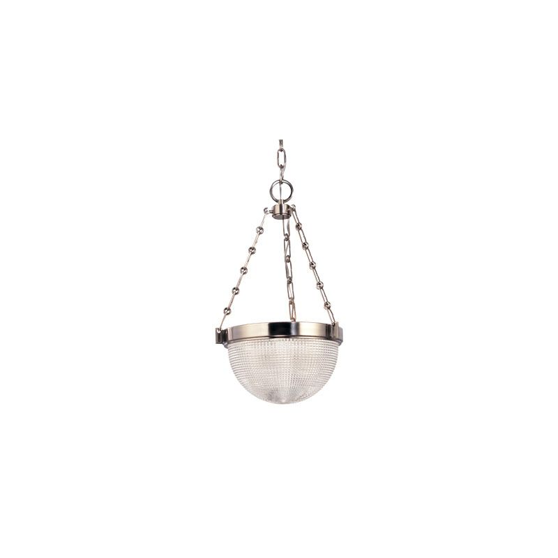 Hudson Valley Lighting 4416 Winfield 3 Light Pendant Polished Nickel