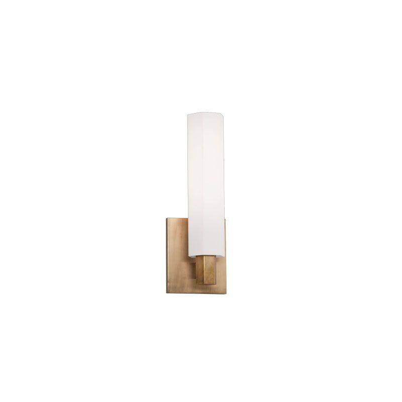 Hudson Valley Lighting 450 Nyack 1 Light ADA Bathroom Fixture Aged