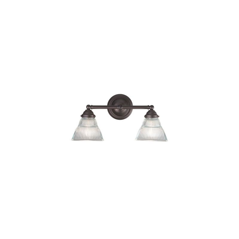 Hudson Valley Lighting 4512 Majestic Square 2 Light Bathroom Fixture