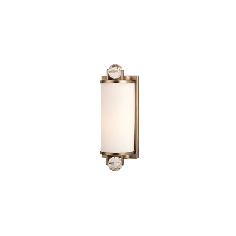 Hudson Valley Lighting 491 Prescott 1 Light Bathroom Fixture Brushed