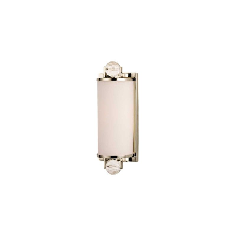 Hudson Valley Lighting 491 Prescott 1 Light Bathroom Fixture Polished