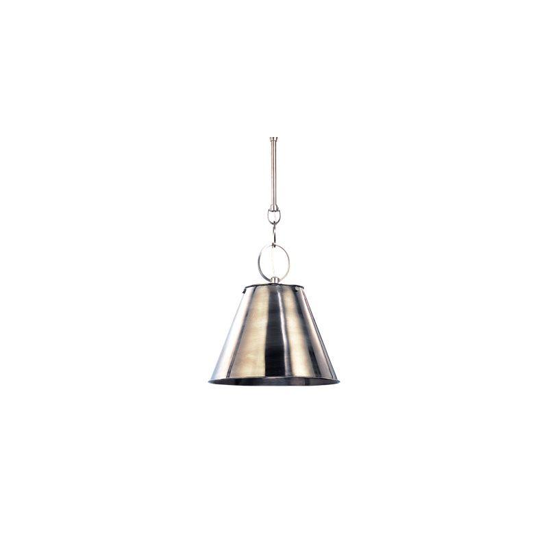 Hudson Valley Lighting 5511 Altamont 1 Light Pendant Polished Nickel