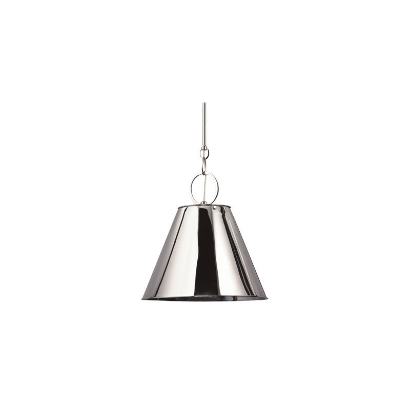 Hudson Valley Lighting 5519 Altamont 1 Light Pendant Polished Nickel