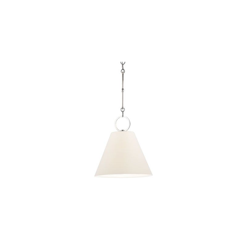 Hudson Valley Lighting 5612 Altamont 1 Light Pendant Polished Nickel