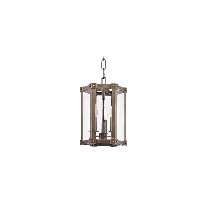 Hudson Valley Lighting 6210 Roxbury 3 Light Pendant Aged Brass Indoor