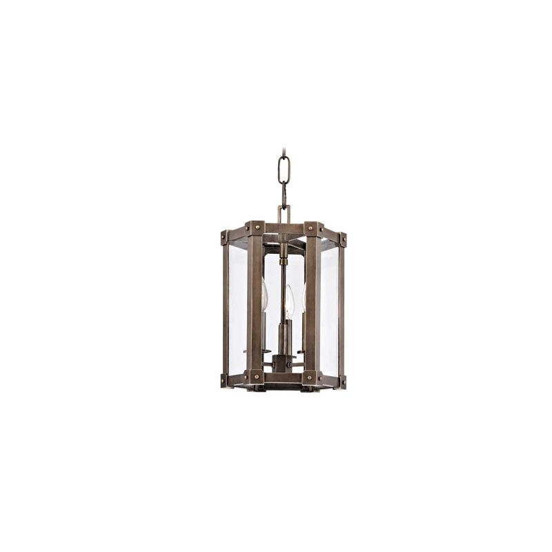 Hudson Valley Lighting 6210 Roxbury 3 Light Pendant Distressed Bronze