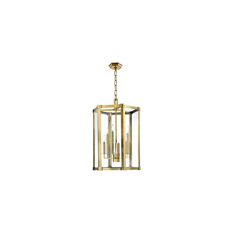 Hudson Valley Lighting 6220 Roxbury 6 Light Pendant Aged Brass Indoor