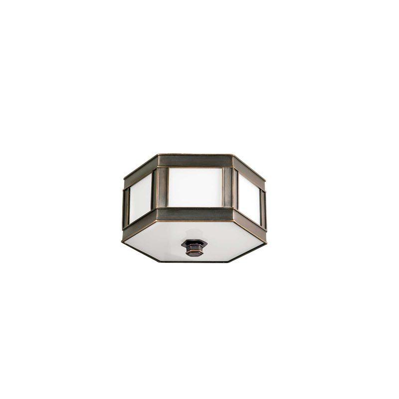 Hudson Valley Lighting 6410 Nassau 1 Light Flushmount Ceiling Fixture