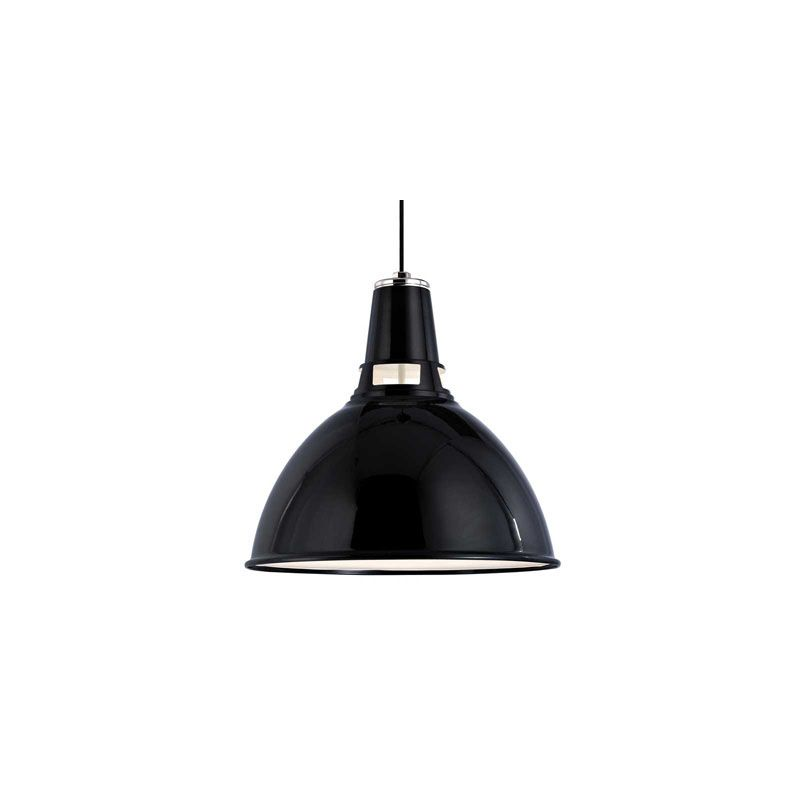 Hudson Valley Lighting 6816 Lydney 1 Light Pendant Black Polished